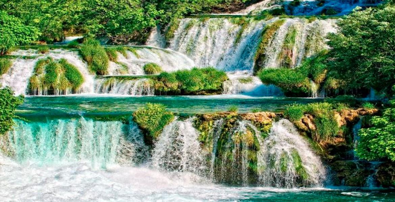 Трогир и водопады реки КРКА
